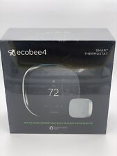 Brand New Ecobee 4 Alexa Enabled Smart Thermostat with Sensor