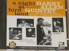 HARRY ALLEN QUINTET -A Night At Birdland Vol. 1- CD