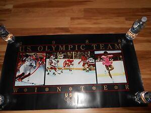 1988 U.S. OLYMPIC TEAM WINTER U.S.A. POSTER