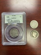 LOT OF 3 LIBERTY HEAD NICKELS (GRADED!)
