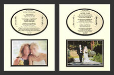 Wedding one Mother and one Father of the Bride Personalized Bridal Gifts