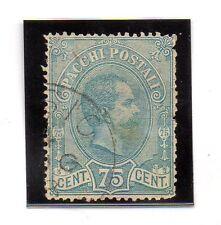 Italia Paquetes postales valor del año 1884-86 (BC-732)
