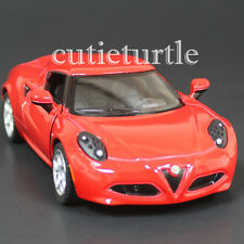 Kinsmart 2013 Alfa Romeo 4C 1:32 Diecast Toy Car Red