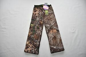 Under Armour Boys Cold Gear infrared Scent Control hunting Pants Youth Camo