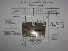 Steuerung 3L-AC für Viessmann 4013,4012,4011,4016,4015,4014  mit Zugbeeinflußung