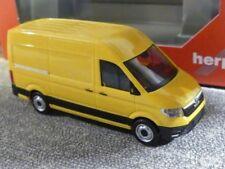 1/87 Herpa MAN TGE Kastenwagen Hochdach ginstergelb 092838-002