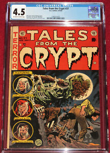 Tales from the Crypt # 37 CLASSIC Graveyard Zombie cover by Jack Davis!