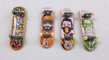 Tech Deck 3-D Cliche Vision Fingerboards Skateboards Fonseca Huske Puig Lot of 4