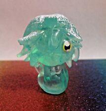 Moshi Monsters Winter Wonderland #72 CALI Green Moshling Mini Figure Mint OOP