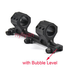 "Metal 1"" 25.4/30mm Scope Ring Picatinny Rail LT Mount&Bubble Level 02 for Rifle"