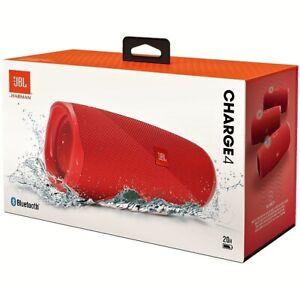 JBL Charge 4 Red Wireless Speaker original new