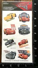 CARS 3 FROM NEW MOVIE BY DISNEY, SHEET TEMPORARY TATTOOS BEAUTIFUL DESIGN #CARS3