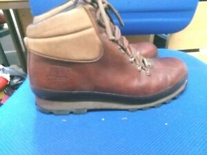 Brasher Hillmaster brown leather walking boots size 8.5
