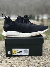 Adidas NMD R1 PK Primeknit Core Black Gum BY1887 Men Running Size 14 Ultra Boost