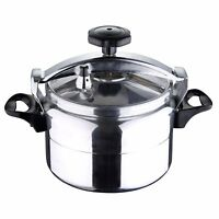 Stainless Steel Fast Pressure Cooker Swiss Home 22 cm 6 Quart