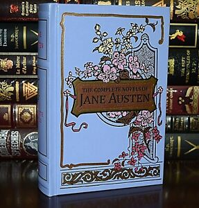 New Complete Novels Jane Austen Emma Pride Prejudice Sense Leather Bound Deluxe