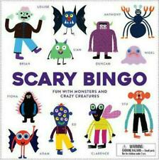 Scary Bingo Fun With Monsters and Crazy Creatures by Rob Hodgson 9781786270085