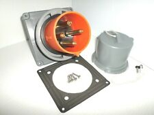 New Other Hubbell Hbl4100b12wamppc100 100 Amp Reverse Service Inlet 100a 125250v