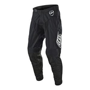 Troy Lee Designs SE Air Solo Mens MX Offroad Pants Black