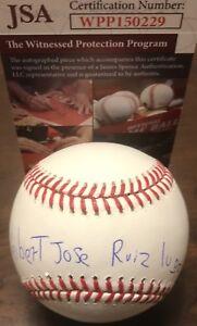 Keibert Ruiz Dodgers FULL NAME Autographed Signed Baseball JSA WITNESS COA