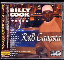 Billy Cook R&B Gangsta +1 Japan CD w/obi PCD-23686