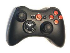 Microsoft XBOX 360 Wireless Controller W/ Custom Buttons Matte Black