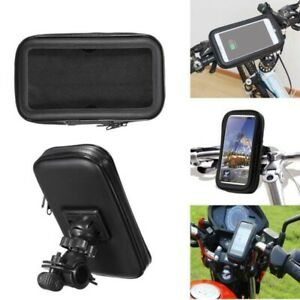 360 Bicycle Motor Bike Waterproof Phone Holder Mount for Apple Samsung Mobile