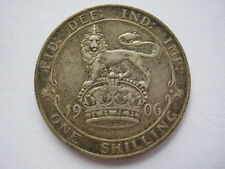 1906 silver Shilling GVF #1