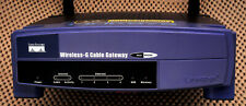 Linksys WCG200 Cable Gateway/Modem 54 Mbps 4-Port 10/100 Wireless G Router