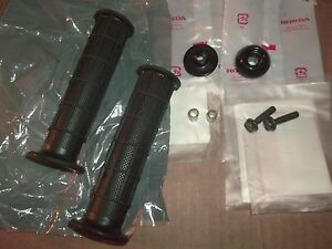 New ATC 250R 200X Big Red Fourtrax 125M 250SX Grips With Bar End Bolts Hardware