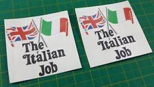 Mini cooper classic Italian job decals stickers graphics vinyls 100mm
