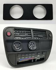 Radio Gauge Pod :: 96-98 Honda Civic (all) 52mm x2 / Dual-Gauges plate delete EK