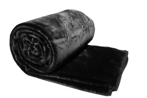 Solaron Blanket throw Thick Ultra Fine Polyester Mink Plush Solid Heavy Weight