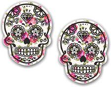 2 pièces 70x55mm MEXICAIN Day of the Dead crâne de sucre crème shabby chic