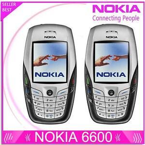 Original NOKIA 6600 Bluetooth Camera Unlocked GSM Triband Mobile Phone White