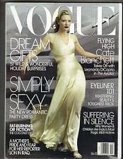 CATE BLANCHETT Vogue Magazine 12/04 GERARD BUTLER DARIA WERBOWY