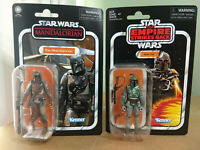 """Star Wars The Vintage Collection Boba Fett & The Mandalorian 3.75"""" Figures"""