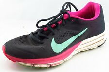 Nike Structure 17  Running Shoes Black Fabric Women9Medium (B, M)