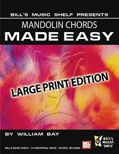 Mandolin Chords Made Easy, Large Print Edition