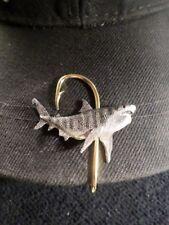 McCloud9 wildlife Hat Clip,Hooks { Tiger Shark }