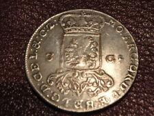 3 GULDEN ou TRIPLE FLORAINS NEERLANDAIS 1786