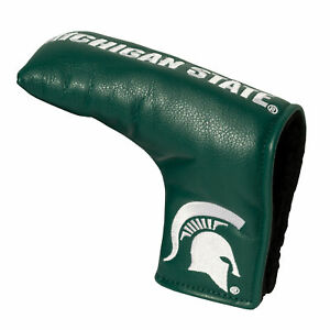 MICHIGAN STATE SPARTANS Team Golf Blade Putter Cover MAGNETIC CLOSE LICENSED