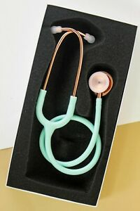 Light green Dual Head stethoscope great alternative for Littmann and MDF nurse