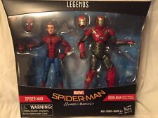 Marvel Legends SPIDER-MAN HOMECOMING And IRON MAN 2 Pack