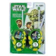 Walkie Talkies Para Niños Star Wars-Nuevo Juguete Walkie Talkie
