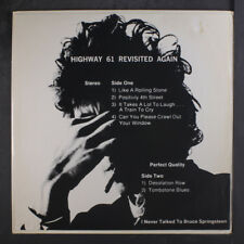 BOB DYLAN: Highway 61 Revisited Again LP (insert cover, small tear on cover sli