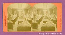 VUE STÉRÉO STEREOVIEW : PARIS, EXPO UNIVERSELLE 78, GALERIE DES BEAUX ARTS -L60