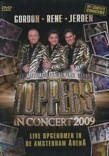 Toppers in Concert 2009 (René Froger, Jeroen vd Boom & Gordon) (2 DVD)