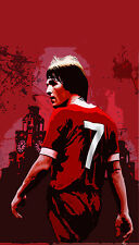 Kenny Dalglish Oil Painting 28x16 in. NOT a poster  Framing avail. Liverpool FC