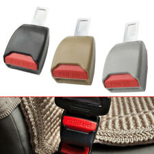Universal 2Pcs Car Seat Belt Buckle Clip Extender Socket Safety Belt Accessories (Fits: Seat)